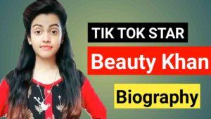 Beauty Khan Biography in Marathi