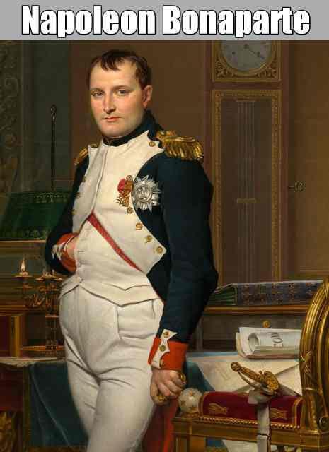 Napoleon Bonaparte Information Marathi